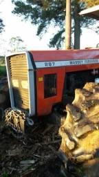 Trator MF 297 - Ano 2001