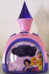 Rádio relógio do Castelo da Princesa Disney
