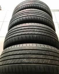 4 pneus 16 - 205/55/16 Goodyear semi novos