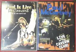DVDs Paul McCartney (Paul Is Live In Concert e Live At The Cavern Club!)