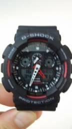 Relógio Casio G-Shock ga-100 Novo na caixa Casio (aceito cartão)