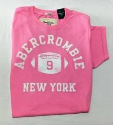 Camiseta Abercrombie & Fitch Pink Xl Original