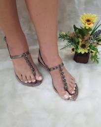 Sandalias rasteiras