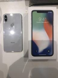 IPhone X - silven 256 GB
