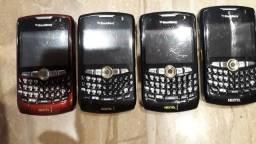 Celulares Blackberry Curve 8350i para retirada de peças