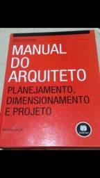 Livro MANUAL DO ARQUITETO