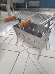 Alumínio fundido desmontável