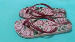 Lote de calçados semi novo. Tamanho 36