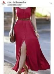 Vestido Novo!! Lindo na cor Rosê!! Tamanho P/M!!
