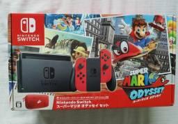Nintendo Switch Edição Super Mario Odyssey