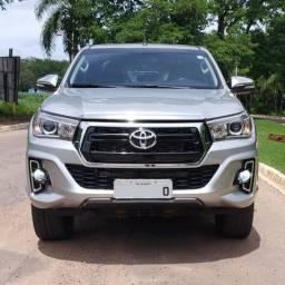 Toyota Hilux SRX Diesel Aut. Prata - 2016