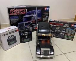Tamiya Truck Hauler Novo - Pintado+Radio Controle + Mcf 01