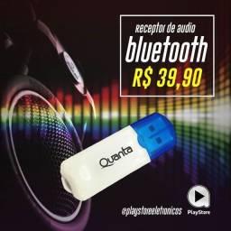 Receptor Áudio Bluetooth