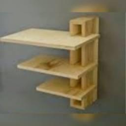 PROMOÇÃO: Prateleira de madeira