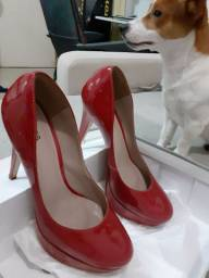 Scarpin vermelho verniz