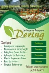 Serviço de jardinagem e paisagismo
