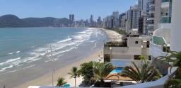 Locação Temporada - Apartamento Frente mar em Balneário Camboriu 4 quartos