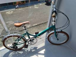 Bicicleta Dobrável Durban Rio Turquesa/usado