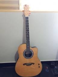 Violao Eagle corpo de fibra vendo ou troco por pedaleira de guitarra
