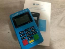 Maquininha de cartão Mini Chip