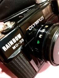 Câmera fotográfica antiga - Olympus Rainbow MD-35 Motorwind