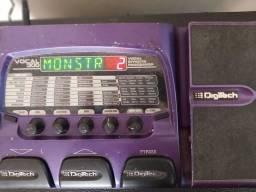 Pedaleira de voz digitec vocal 300