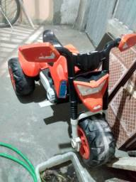 Moto elétrica com defeito