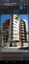 Alugo apto na jatiúca com 3 suítes e gabinete com 119m² e 2 vagas por R$ 3.000,00
