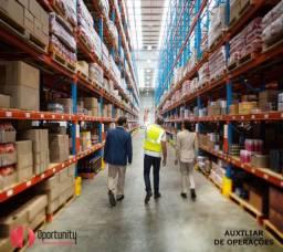 Auxiliar de logistica/produção/deposito