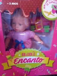 Boneca Bebê Encanto Sorvetinho 56 Cm - Estrela