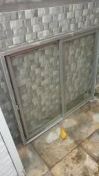 Janela e porta de alumínio