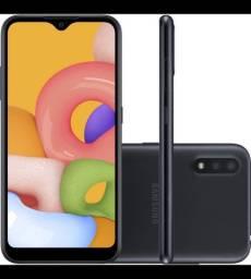 Vendo Samsung Galaxy A01 NOVO, na caixa lacrada!