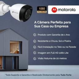 Mega KIT com 04 Câmeras Motorola