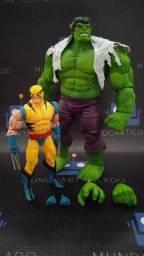 Hulk e Wolverine 80th Marvel Legends Action Figure Hasbro
