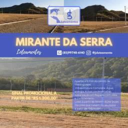 Loteamento Mirante da Serra em Maranguape!
