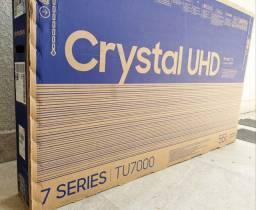 "Smart TV LED 55"" Samsung Crystal UHD 4K | Nova Lacrada"