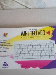 Mini teclado PS/2 computador