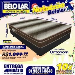 Cama Box Casal #Natalzão compre no zap *