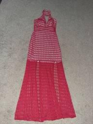 Vestido vermelho tam G