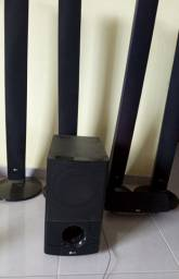 Caixas de som  LG de Hometheater