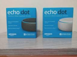 Echo Dot Amazon 3ª Geração C/ Alexa-smart Speaker Wi-fi Pt