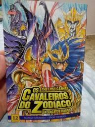 Mangá Os Cavaleiros do Zodíaco #12 (semi-novo)