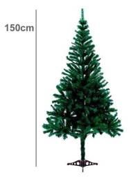 Título do anúncio: Árvore de Natal 1,50 m 230 Galhos c/ Base