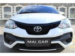 Toyota Etios 2019 1.5 x plus 16v flex 4p manual