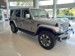 Jeep Wrangler Sahara Unlimited Overland 4x4 AT8 - Disponibilidade Imediata - 2021 0km