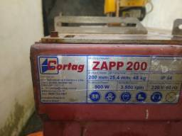Cortar zapp 200 por preço de riscadeira 1300 reais