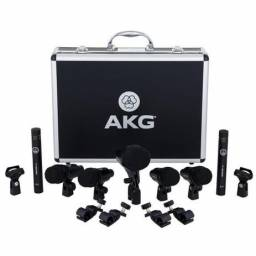 Microfone Akg  Drumset Session   (Kit 7 Microfone) Musical Center Magnelson