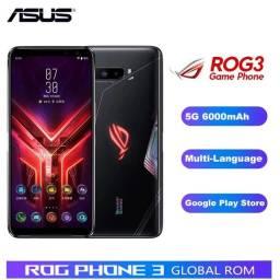 Rog Phone 3 12Ram 256GB Novo!!!