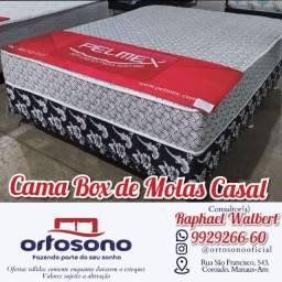 Título do anúncio: ** Cama cama casal + brinde de travesseiros entrega gratis
