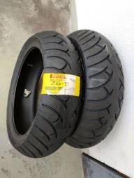 Pneu traseiro 180/55 R17 Pirelli Roadtec Z6 novo